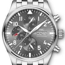 IWC Pilot Spitfire Chronograph Acél 43mm Szürke Arab Magyarország, Budapest