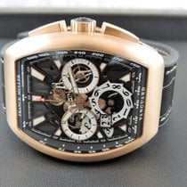 Franck Muller Red gold Automatic 53,7mm new Vanguard
