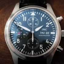 IWC FLIEGERUHR PILOTS CHRONO DAY-DATE IW3717 / BOX