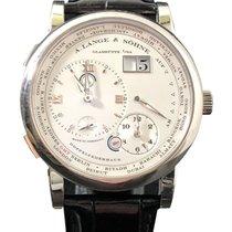 ランゲ・アンド・ゾーネ Lange 1 Timezone 18KT White Gold 116.039