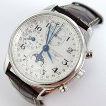Longines Steel Automatic 40mm pre-owned Master Collection