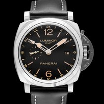 Panerai Luminor 1950 3 Days GMT Automatic new Steel