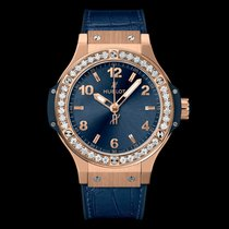 Hublot Big Bang 38 mm Rose gold 38mm Blue Arabic numerals United States of America, New York, NYC