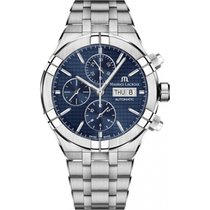 Maurice Lacroix AIKON Staal 44mm Blauw