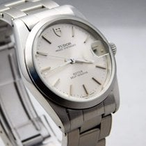 Tudor 34mm Automatic pre-owned Prince Oysterdate Silver