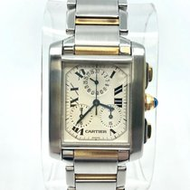 Cartier Tank (submodel) Steel 28mm White Roman numerals