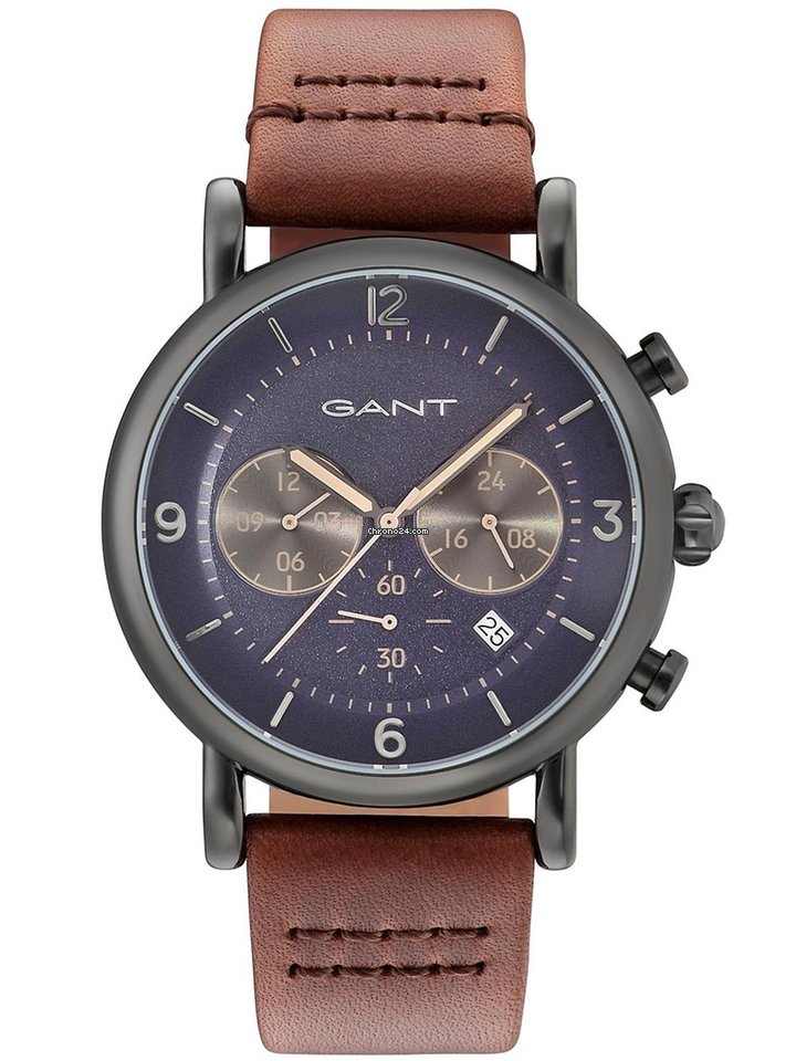 Chronograph Gant 43mm Springfield 5atm Time Gt007007 Iygb76vYf