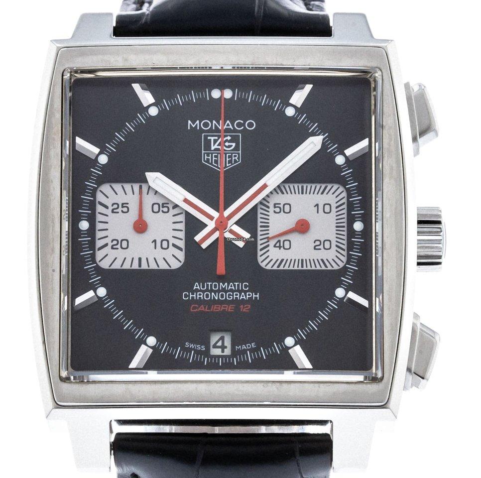 19c05e9a911 TAG Heuer Monaco Calibre 12 - all prices for TAG Heuer Monaco Calibre 12  watches on Chrono24