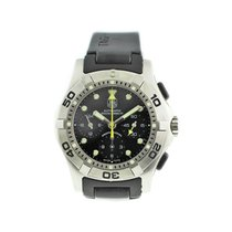 TAG Heuer Aquagraph Steel 41mm Black