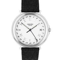 Hermès Chronometer 35mm Quartz pre-owned White