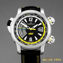 Jaeger-LeCoultre 46mm Automatic 2009 pre-owned Master Compressor Extreme W-Alarm Black