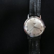 Longines 33mm Corda manual 1970 usado Prata