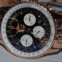 Breitling Navitimer 01 Rose gold 43mm Black No numerals United States of America, New York, Greenvale