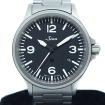 Sinn 40mm Automatic 2015 pre-owned 856 / 857 Black