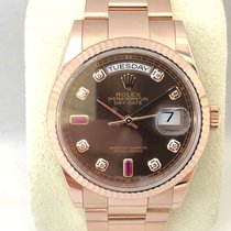 Rolex Or rose 36mm Remontage automatique 118235 occasion