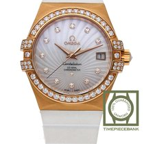 Omega Constellation Ladies new 2019 Automatic Watch with original box and original papers 123.57.35.20.55.001