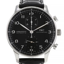 IWC Portuguese (submodel) Steel 40mm Black Arabic numerals