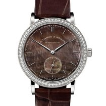A. Lange & Söhne Saxonia White gold 35mm Mother of pearl No numerals