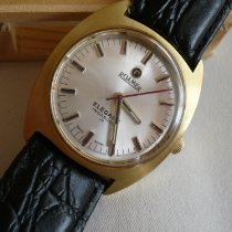 Roamer Acero y oro 34mm Cuerda manual 520-2210 322 usados