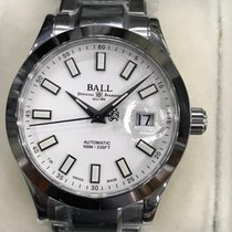 Ball Engineer III Zeljezo 40mm Bjel Bez brojeva