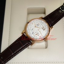 A. Lange & Söhne Lange 1 Rose gold 41.9mmmm Silver Roman numerals United States of America, New York, New York