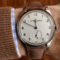 Ulysse Nardin Classico occasion 39mm Argent Date Cuir