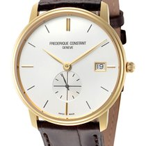 Frederique Constant Slimline Gents Gold/Steel 37mm Silver