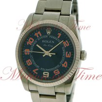 Rolex Air King 114234 blcao pre-owned