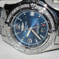 Breitling Colt Oceane Steel 33mm Blue Arabic numerals United States of America, New York, NEW YORK CITY