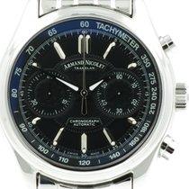 "Armand Nicolet ""M02 Chronograph Automatic"" Steel..."