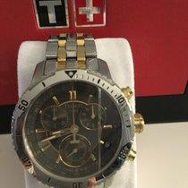 Tissot T-Sport PRS 200 Chronograph Black Dial Men's Watch