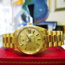 Rolex Solid 18k Yellow Gold Day Date President Watch Circa...