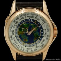 Patek Philippe World Time White gold 39.5mm United States of America, New York, New York