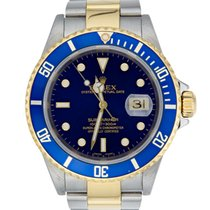 Rolex Submariner Bimetal with Blue Dial Ref:16613