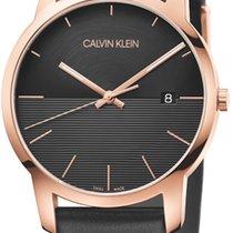 ck Calvin Klein Acero 43mm Cuarzo K2G2G6CZ nuevo