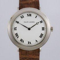 Ralph Lauren Slim Classique 42mm 18K White Gold