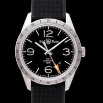 Bell & Ross BR V1 new Automatic Watch with original box and original papers BRV123-BL-GMT/SRB