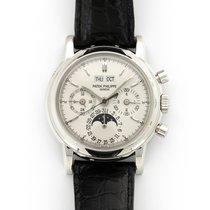 Patek Philippe Perpetual Calendar Chronograph Platinum 36mm Silver United States of America, California, Beverly Hills