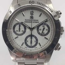 Schwarz Etienne Tricompax Auto Chronograph WOL04AT17SS70AA