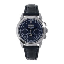 Patek Philippe 40.2mm Automatic 2014 new Perpetual Calendar Chronograph Blue