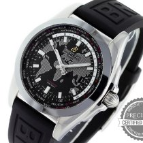 Breitling Galactic Unitime Steel 44mm Black No numerals United States of America, Pennsylvania, Willow Grove