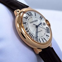 Cartier Ballon Bleu 42mm Rose gold 42mm Silver Roman numerals United States of America, Florida, Boca Raton
