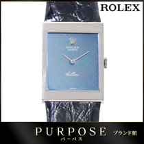 Rolex 32mm Manual winding pre-owned Blue