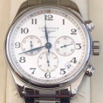 Longines Cronograf 44mm Atomat folosit Master Collection Alb