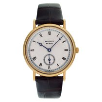 Breguet Classique Yellow gold 33mm Silver Roman numerals United States of America, Florida, Surfside