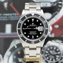 Rolex 16610T Steel 2005 Submariner Date 40mm pre-owned
