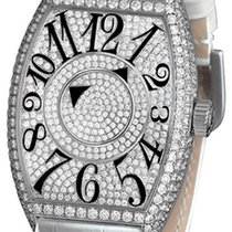 Franck Muller Double Mystery pre-owned 40mm White gold