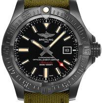 Breitling Avenger Blackbird new Automatic Watch with original box V1731010-BD12-105W