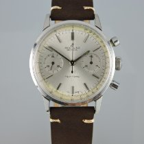 Breitling Top Time Acero 36mm Plata
