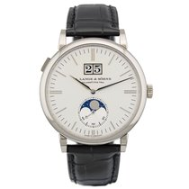 A. Lange & Söhne Saxonia White gold 40mm Silver United States of America, New York, New York